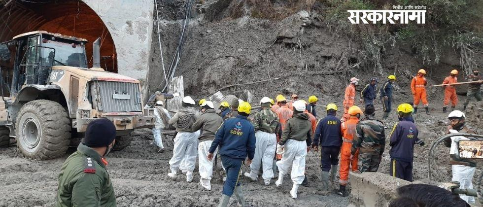 Missing 150 persons in glacier burst in uttarakhand says local police