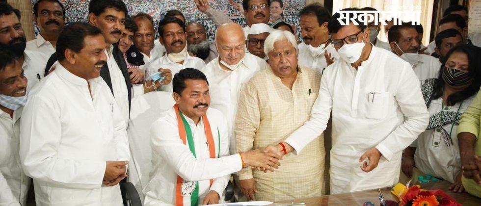 Nana Patole accepted the post of congress state president