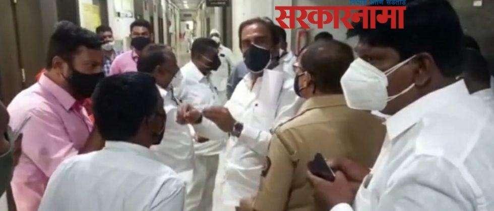 The water of Solapur will not be depleted; But Indapur should get water : bharane :