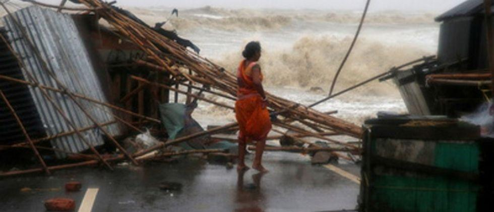 The cyclone has caused severe damage to houses in West Bengal and Odisha