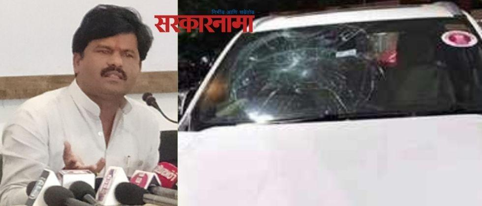 Two arrested for attacking Gopichand Padalkar's car