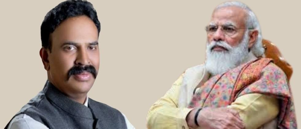 I have been elected from Pawar's constituency ... Nimbalkar reminded Modi ...