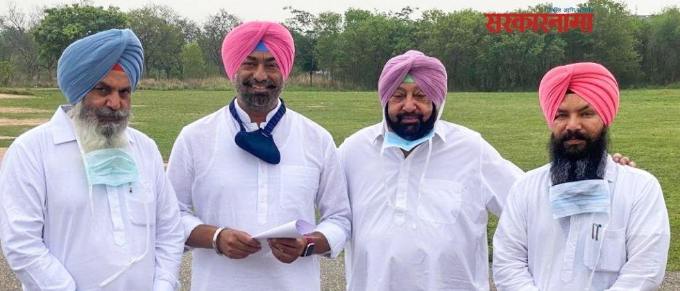 Three AAP MLA Joined congress in Punjab in presence of CM Amrinder Singh