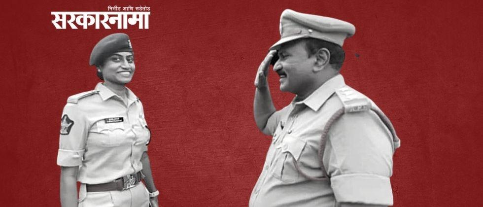 in andhra pradesh photo of father on duty saluting dysp daughter goes viral