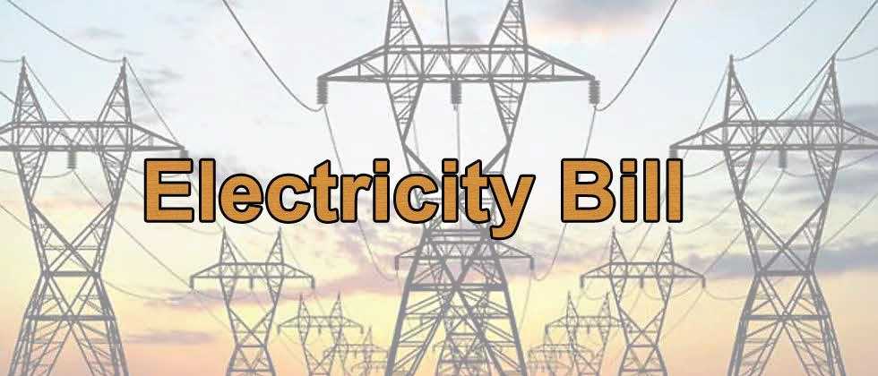 BJP's demand for minimum electricity bill
