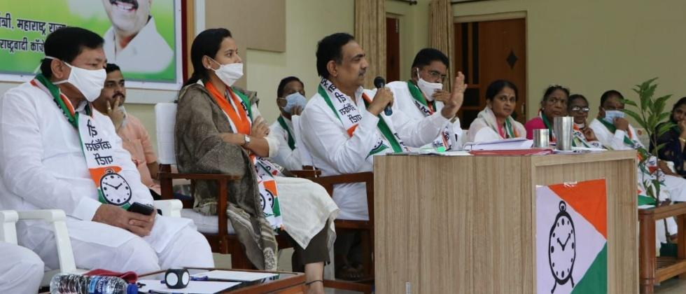NCP leaders pay attention to Shiv Sena's stronghold