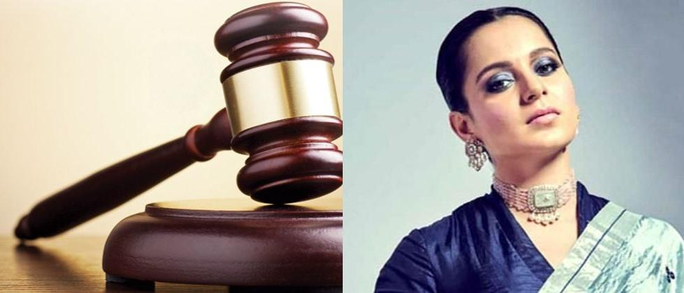 ourt directs police to register FIR against actress Kangana Ranaut