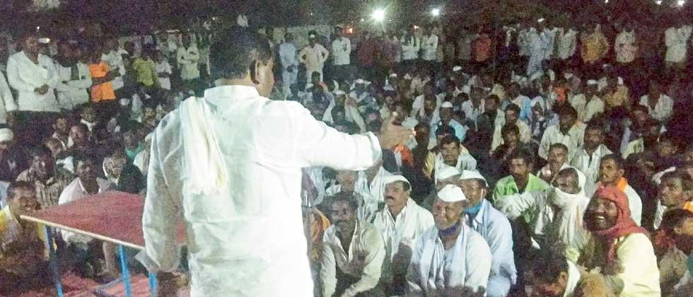 suresh Dhas blew the trumpet; 'Koyata Bandh' agitation from January 1 if 85% price hike is not done