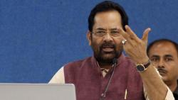 bjp leader mukthar abbas naqvi slams congress leadership over rajasthan mess