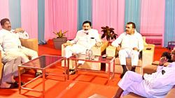 Confidential meeting of NCP leaders; Consideration of all party candidates for District Bank
