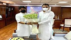 The two kings met; The problem of Kolhapur airport was solved ....