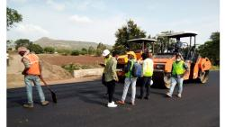 World record in Satara: A road of 39.67 km in one day