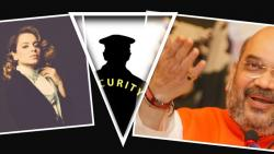 Amit Shah Gives Y Security to Kangana Ranaut