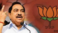 Congratulations from Eknath Khadse to the new BJP state executive