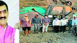 Explosives found in Home Minister's constituency; Action on seven crushers in illegal excavation case