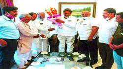 Statement of the community to Prithviraj Chavan for the Muslim community to get reservation