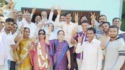 Sakal Tanishqa Member Elected Sarpanch of Nijampur