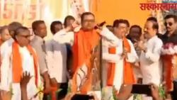 Trinamool Leader Performs Squats Holding Ears On Stage