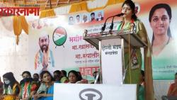 NCP state president Rupali Chakankar criticizes BJP state vice president Chitra Wagh