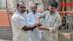Discussion of Samarth Bandhan built by  Shiv Sena Ganesh Wankar to Samadhan Avtade