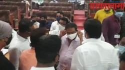 Confusion in the general meeting of Jalgaon Municipal Corporation .jpg