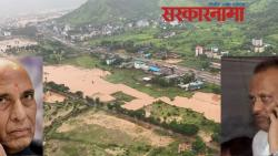 Ajit Pawar briefed the Defense Minister on the flood situation in the state