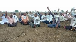 Vanchit Aghade Agitation about Farmers Issues
