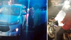 Minister of State Bharne gave a car to the injured and went home on his own two-wheeler
