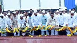 "Bharane-Jachak's end ""Mile Sur Mera Tumhara""; The only event to launch sugarcane crushing at Chhatrapati factory"
