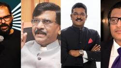 kunal kamra asks sanjay raut about update on why JCB is stuck in traffic