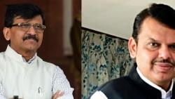 bjp leader devendra fadnavis and shivsena leader sanjay raut target each other