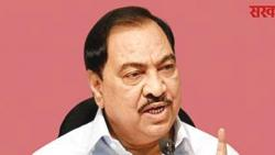 BJP persecutes many OBC leaders: Eknathrao Khadse