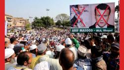 Congress MLA among 2 thousand people booked over anti Macron protest