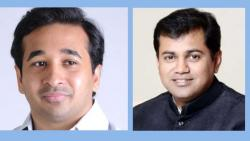 MLA Nitesh Rane criticizes Guardian Minister Uday Samant over Sarpanch's insurance cover