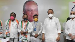 Ajit Pawar at party