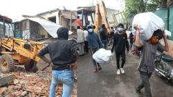 State government gave Stay demolition of houses in Pune's Ambil stream