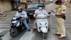 Permission of Pune district administration to go to work by motorcycle