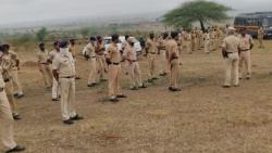 Work on Pune water supply scheme started under police protection