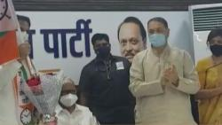 Ex MP Subodh Mohite joins NCP in presence of Sharad Pawar