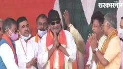 Mithun Chakraborty joins BJP in west bengal amid assembly election