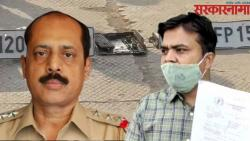 Sachin waze case The number plates found in Mithi river belong to Vijay Nades car