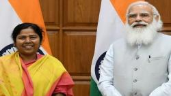 pratima bhoumik from tripura is low asset minister in union cabinet