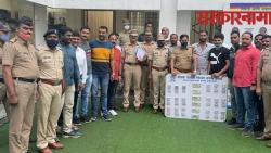 Police arrested the accused for breaking into an ATM and stealing Rs 15 lakh .jpg