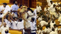 Criminal cases against six MLAs for causing ruckus and vandalism in Kerala Assembly