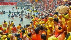 two main akharas blame each other for spread of covid 19 in kumbh mela