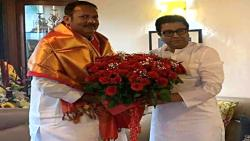 MP Udayanraje visited Krishnakunj and met Raj Thackeray