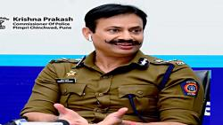Pimpri police continue to push; Now the youth's Radha is at the police station