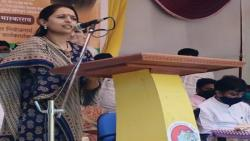 Mp Pritam Munde rally in beed news