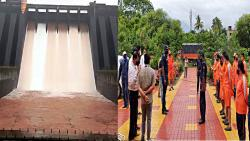 The risk increased; 67 thousand 873 cusecs of water from five dams in Satara into river basin; Rivers crossed danger levels
