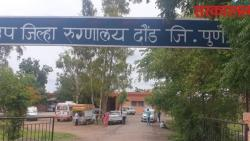 The doctor who was caught taking bribe in Daund city is in hospital on the seventh day